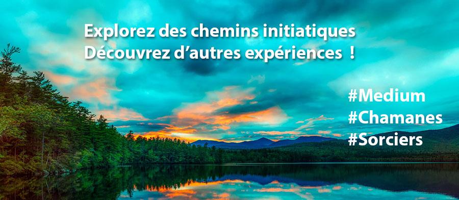 """""""Bannière Medium Chamanes Sorciers"""