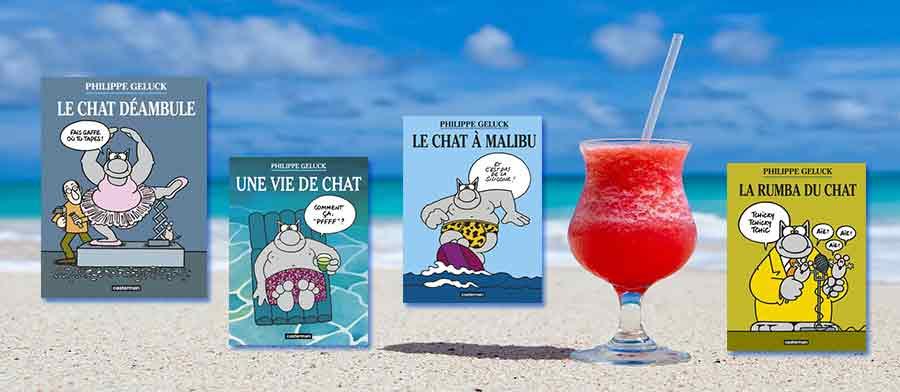 Bannière LeChat - Philippe Geluck