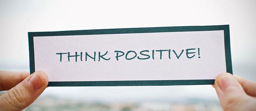 Bannière Pensée positive