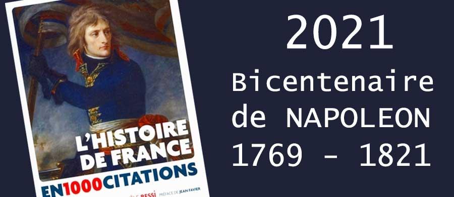Livres bicentenaire Napoléon